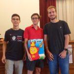 Premiazioni: squadra vincitrice torneo di KUBB